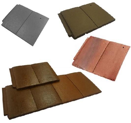 Forticrete Gemini Roof Tiles (Slate Grey, Brown, Sunrise Blend, Mixed Russet) Image
