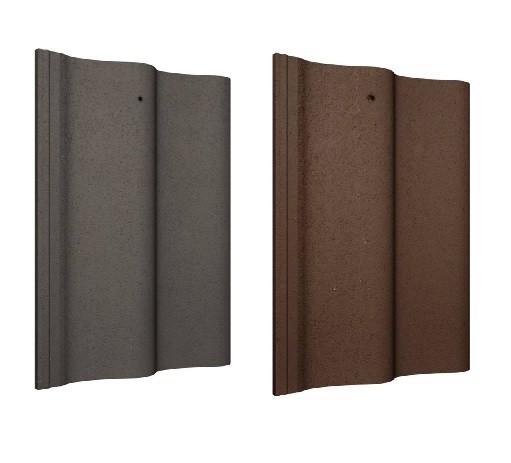 Quinn/Mannok Locherne Roof Tiles (Slate Grey, Turf Brown) Image