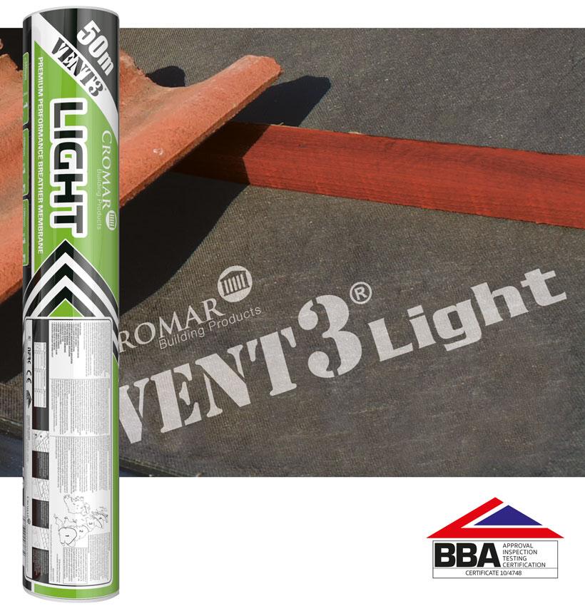Cromar Vent3 Light Breathable Membrane Image